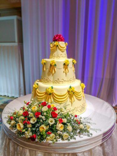 FTW 美女と野獣 ウエディングケーキ