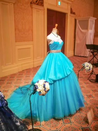 リトル・マーメイドモチーフのドレス