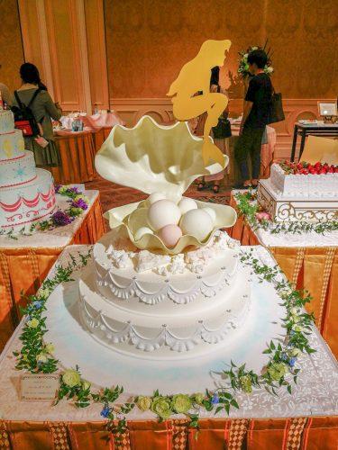 FTW リトル・マーメイドのウエディングケーキ
